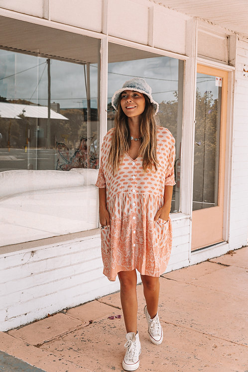 SAN JOSE THE LABEL | Sundaze Tunic | Peach