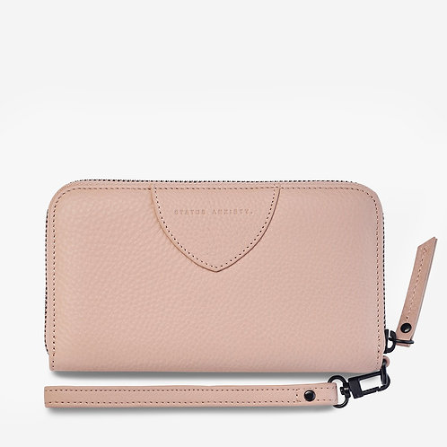 STATUS ANXIETY | Moving On Wallet | Dusty Pink