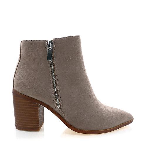 BILLINI   York Boots   Dark Taupe Suede