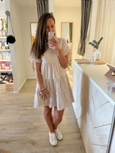Charlie Dress | Gingham