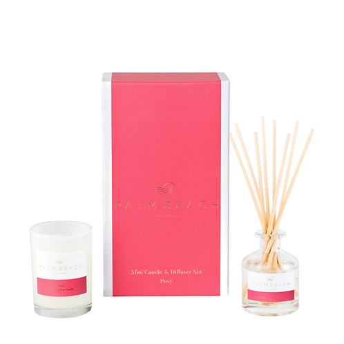 PALM BEACH COLLECTION | Mini Candle & Diffuser Gift Pack | Posy