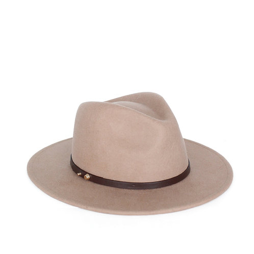ACE OF SOMETHING | Oslo Felt Hat | Golden Sand