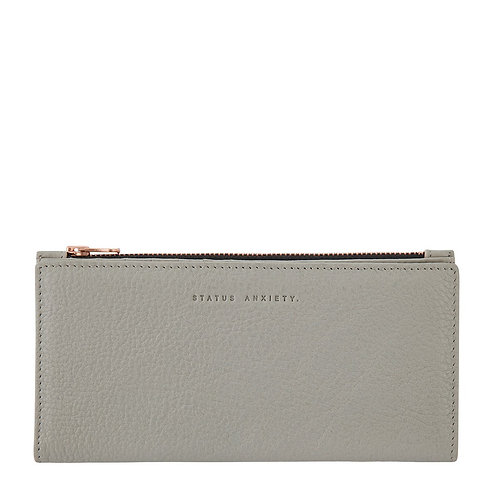 STATUS ANXIETY | In The Beginning Wallet | Light Grey