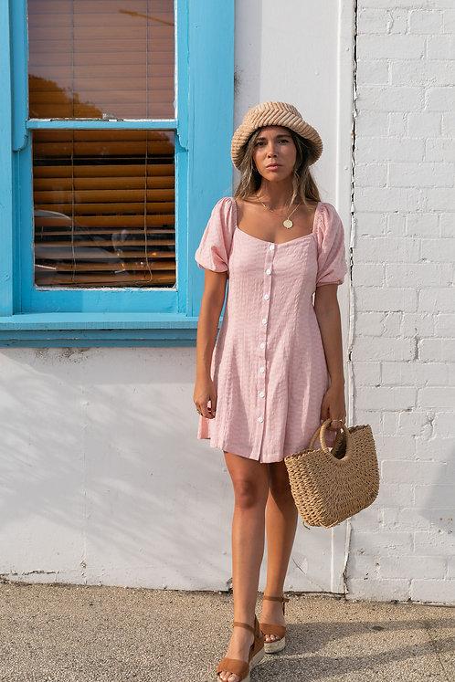 SAN JOSE THE LABEL | Coco Mini Dress | Dusty Pink