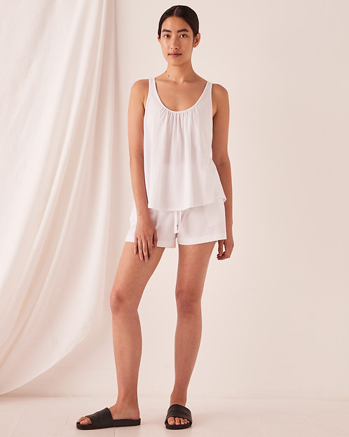 ASSEMBLY LABEL | Tilly Top | White