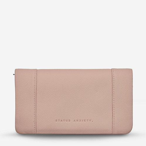 STATUS ANXIETY | Some Type of Love Wallet | Dusty Pink