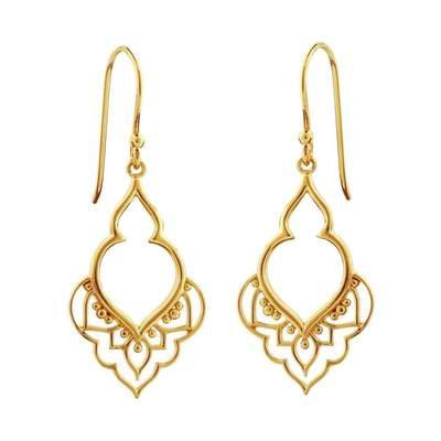 MIDSUMMER STAR | Gold Moroccan Doorway Earrings