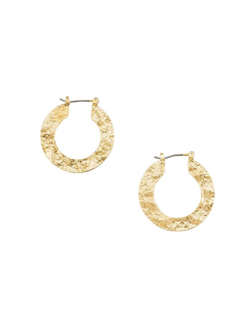 TIGER TREE | Gold Foiled Hoops