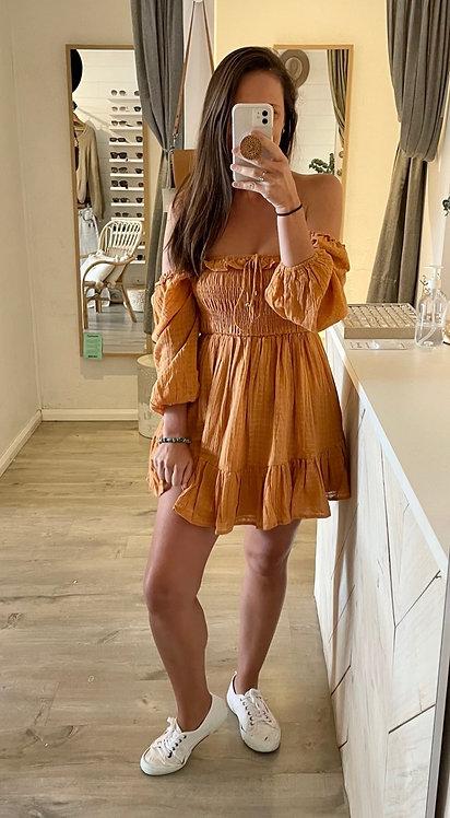 Bangalore Dress   Tan