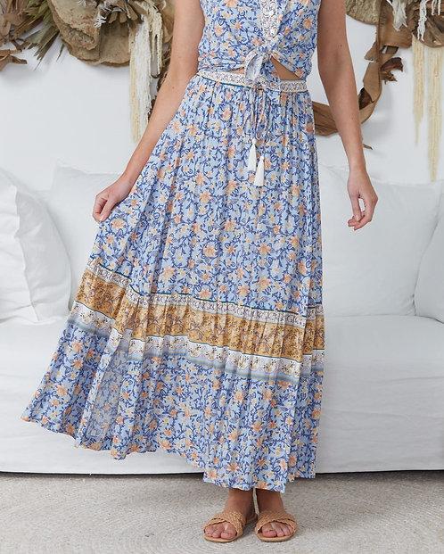 Marlow Maxi Skirt | Blue