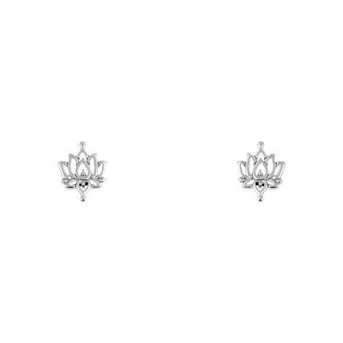 MIDSUMMER STAR | White Lotus Studs