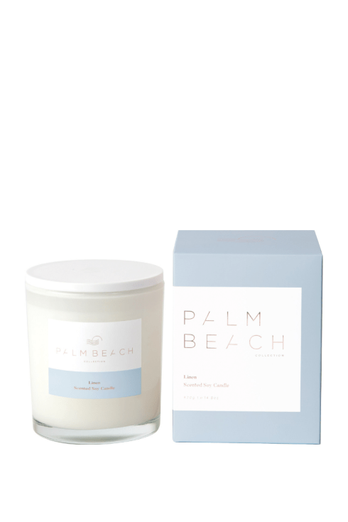 PALM BEACH COLLECTION | Linen | Standard Candle