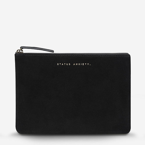 STATUS ANXIETY | Momentary Clutch | Black