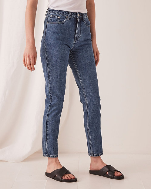 ASSEMBLY LABEL | High Waisted Rigid Jean | Vintage  Blue