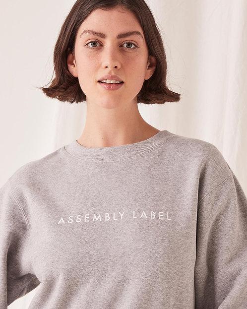 ASSEMBLY LABEL | Logo Fleece | Grey Marle
