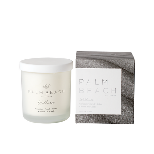 PALM BEACH COLLECTION   Wellness Candle   Geranium, Neroli & Amber
