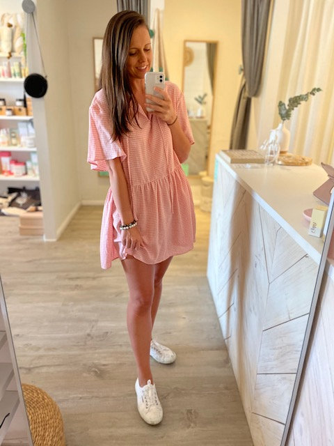 SAN JOSE THE LABEL | Ariana Smock | Pink