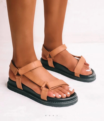 Billini ZAK Sandals | Sugar Brown