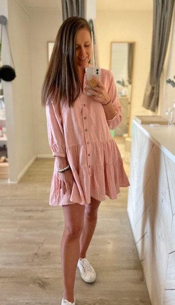 Noosa Dress | Dusty Pink