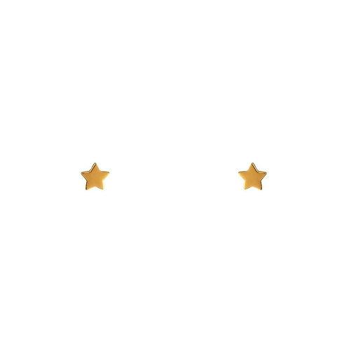 MIDSUMMER STAR | Gold Astra Star Studs