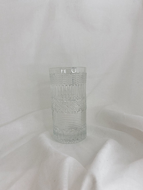 Detailed Tall Glass | Set Of Two