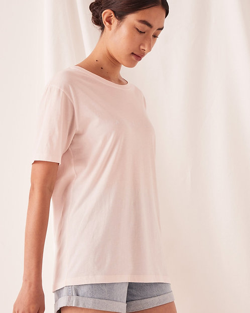 ASSEMBLY LABEL | Logo Tee | Pink Dew