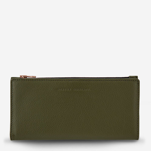 STATUS ANXIETY | In The Beginning Wallet | Khaki