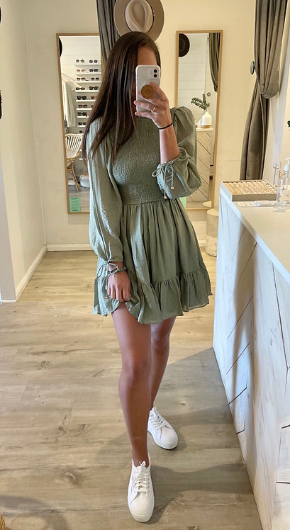 St Tropez Dress | Olive