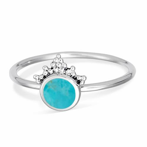 MIDSUMMER STAR | Mystic Mirror Turquoise Ring