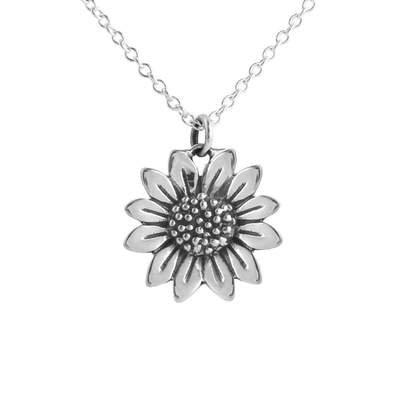 MIDSUMMER STAR   Blossoming Sunflower Necklace 45cm