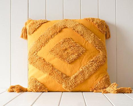 Arcadia Cushion   Mustard