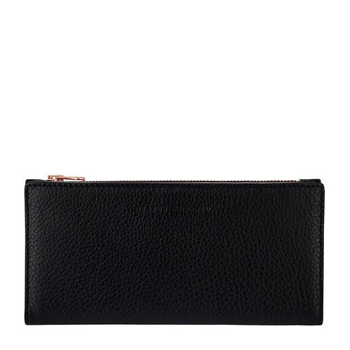 STATUS ANXIETY | In The Beginning Wallet | Black