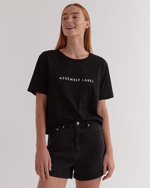 ASSEMBLY LABEL | Logo Tee | True Black