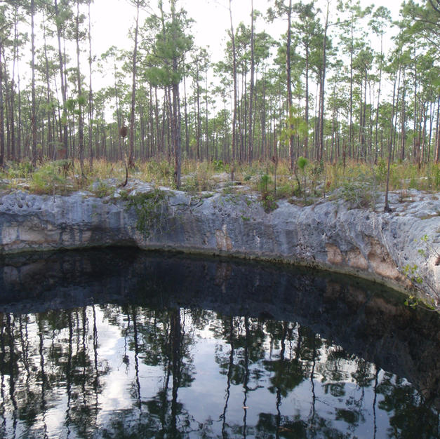 Blue Holes and Dry Caves