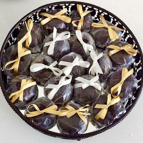 Pão de Mel com creme de damasco embalado (médio) 50 unidades