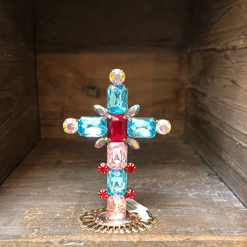 Czech Glass Cross