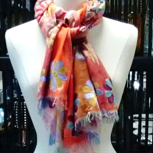 "Cotton Scarf by Anu ""Passion"""