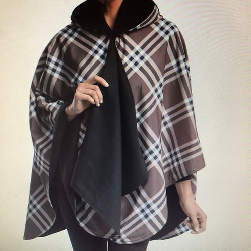 Coco Plaid Raincaper
