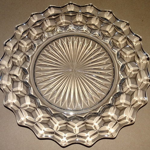 Fostoria American Pattern dinner plate
