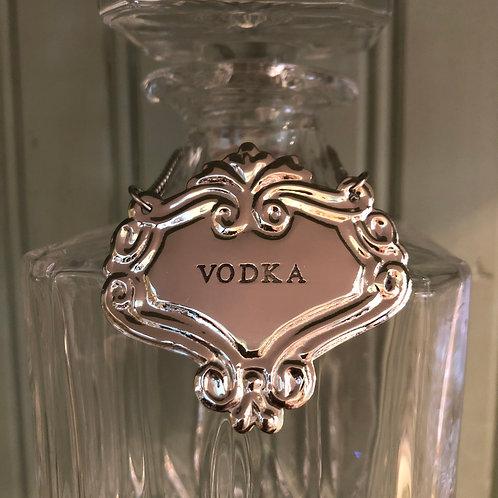 Liquor Tag - Vodka