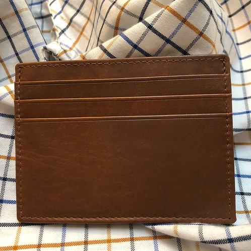 Men's Mini Credit Card Holder - Brown