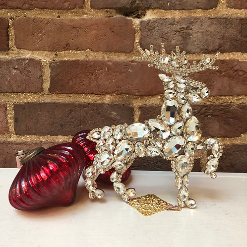 Czech Glass Reindeer