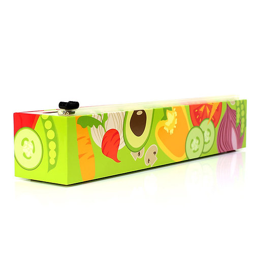 Veggie Design Plastic Wrap Dispenser from ChicWrap