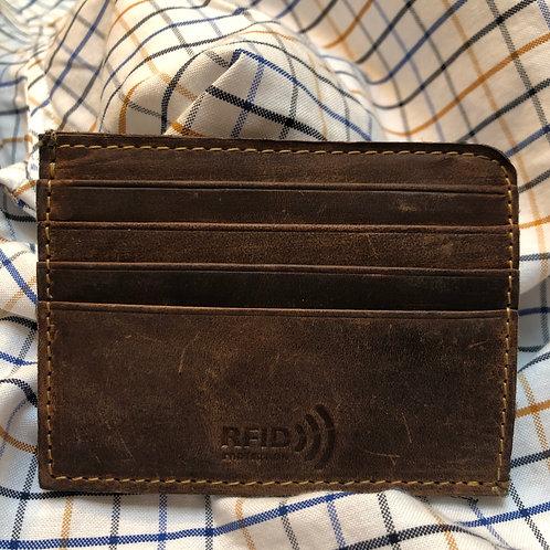 Men's Magnetic Credit Card Case