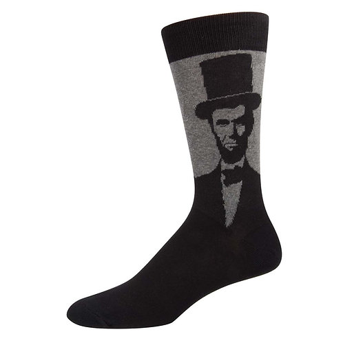 Lincoln Charcoal Heather Socks