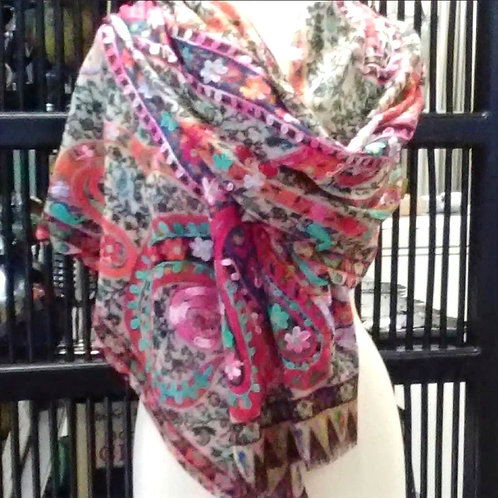 "Wool Scarf by Anu ""Himalaya"""