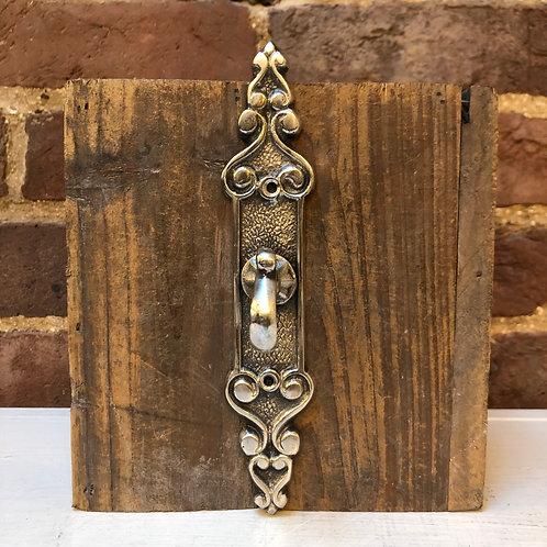 Ornate Silver Metal Hook
