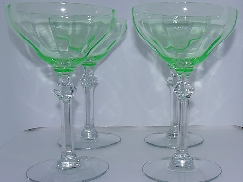 Set of 4 Vintage Coupes