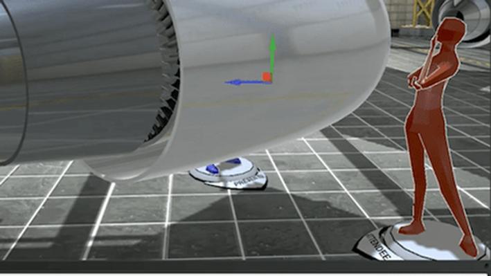 WorldViz Vizible VR Platform