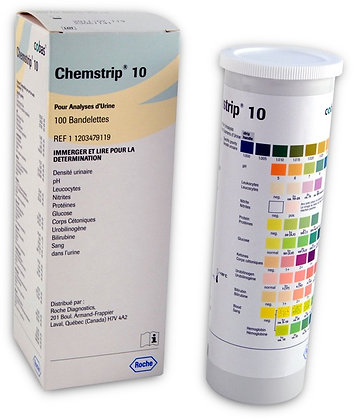 Chemstrip Urine Tests